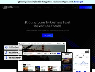 blog.hotelengine.com screenshot