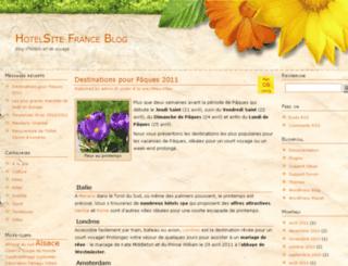 blog.hotelsite.fr screenshot