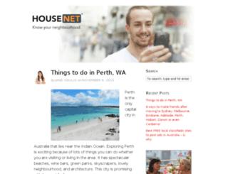 blog.housenet.com.au screenshot