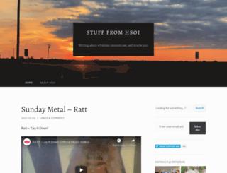 blog.hsoi.com screenshot