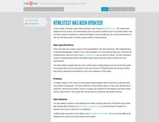 blog.html5test.com screenshot