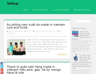 blog.htshophn.com screenshot