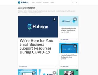 blog.hubdoc.com screenshot