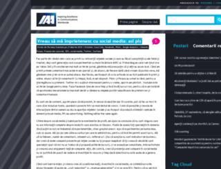 blog.iaa.ro screenshot