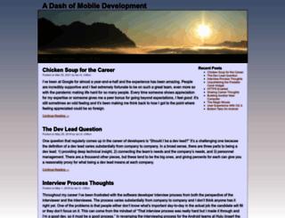 blog.iangclifton.com screenshot