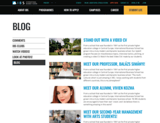 blog.ibs-b.hu screenshot