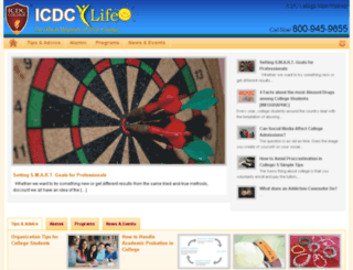 blog.icdccollege.edu screenshot