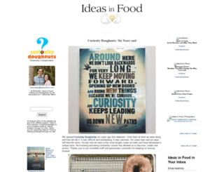 blog.ideasinfood.com screenshot