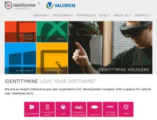 blog.identitymine.com screenshot