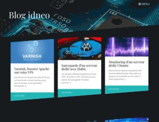 blog.idneo.fr screenshot
