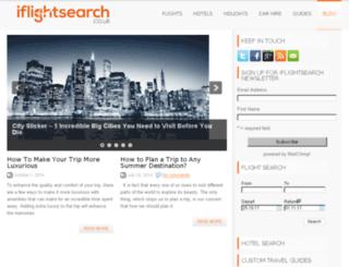 blog.iflightsearch.co.uk screenshot