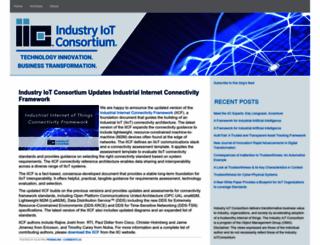 blog.iiconsortium.org screenshot