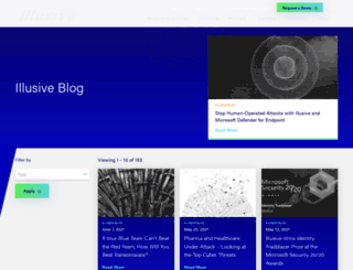 blog.illusivenetworks.com screenshot