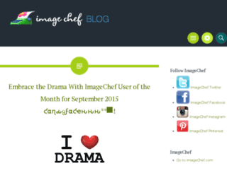 blog.imagechef.com screenshot