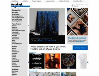 blog.imagekind.com screenshot