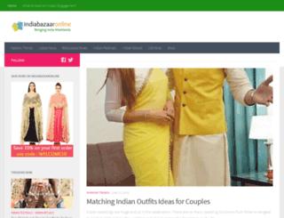 blog.indiabazaaronline.com screenshot