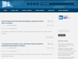 blog.indiandentalacademy.com screenshot