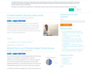 blog.infinio.com screenshot
