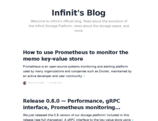 blog.infinit.io screenshot
