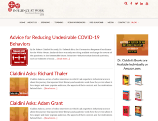 blog.influenceatwork.com screenshot
