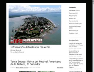 blog.infopuntarenas.net screenshot