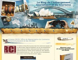 blog.infos-tourisme.eu screenshot