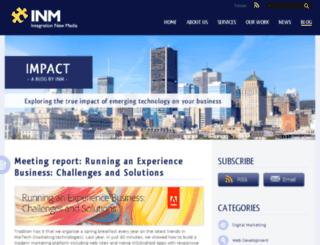 blog.inm.com screenshot