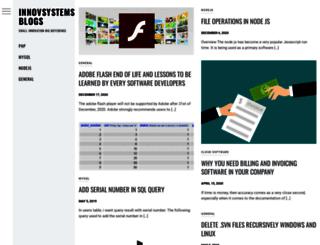 blog.innovsystems.com screenshot
