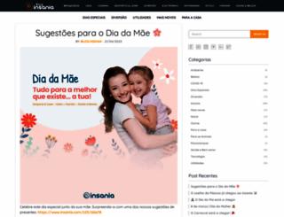 blog.insania.com screenshot