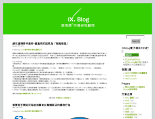 blog.insightxplorer.com screenshot