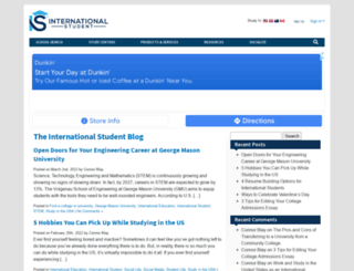 blog.internationalstudent.com screenshot