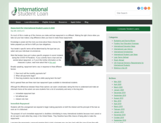 blog.internationalstudentloan.com screenshot