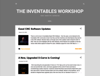 blog.inventables.com screenshot