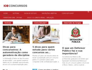 blog.iobconcursos.com screenshot