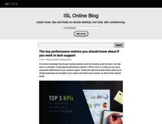 blog.islonline.com screenshot