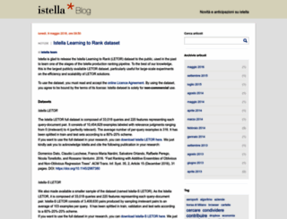 blog.istella.it screenshot