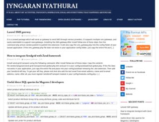 blog.iyngaran.info screenshot