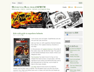 blog.jafrum.com screenshot