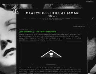 blog.jaman.com screenshot
