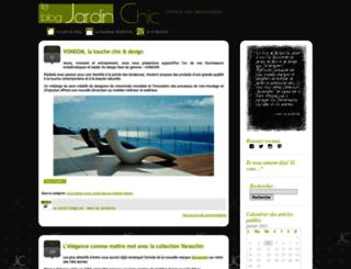 blog.jardinchic.com screenshot