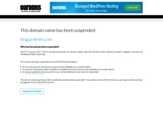 blog.jardinitis.com screenshot