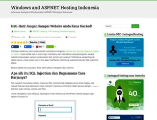 blog.jaringanhosting.com screenshot