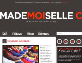 blog.jefchaussures.com screenshot