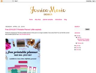 blog.jessicamariedesign.com screenshot