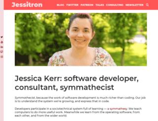 blog.jessitron.com screenshot