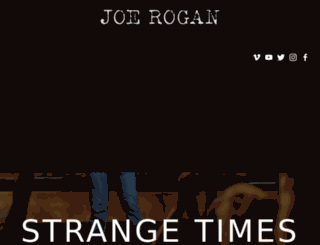 blog.joerogan.net screenshot