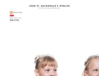 blog.johnwmacdonald.com screenshot