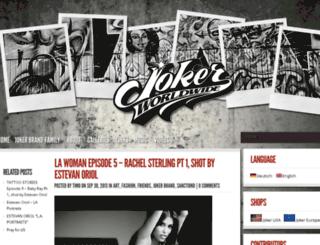 blog.jokerbrand.net screenshot