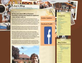 blog.jonball.org screenshot