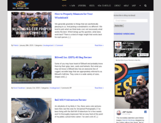 blog.jpcycles.com screenshot